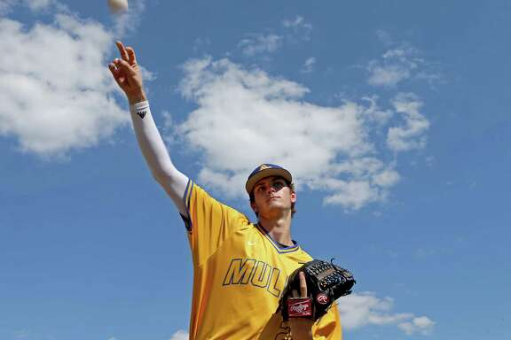 Alamo Heights' Forrest Whitley is expected to be a high pick in the Major League Baseball draft, which starts Thursday.