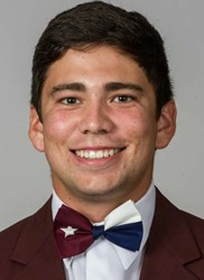 Texas A&M junior right-handed pitcher Mark Ecker, an O'Connor-ex, was named to Baseball America's second-team All-America. (A&M SID courtesy photo)