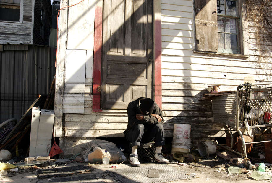 Despite spending trillions of dollars in the War on Poverty over the past 50 years, the poverty rate has barely budged. Photo: Associated Press File Photo / AP