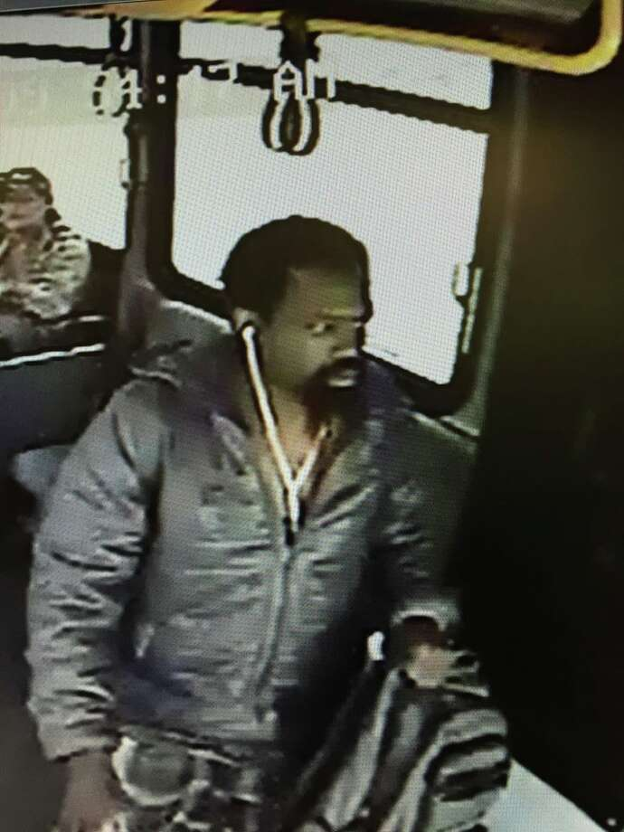 Police are looking for a man who carried out an unprovoked attack against an unsuspecting passenger of a Waco Transit bus in March. Photo: Waco Police Department