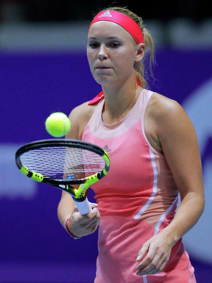 Four-time champion Caroline Wozniacki is returning to the Connecticut Open. Photo: Dmitri Lovetsky / Associated Press / AP