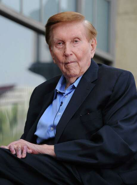 """""""The idea that he (Sumner Redstone) could suffer from mortal disease at any time — you could say that about any elderly person,"""" his lawyer said during a hearing Tuesday. """"Neither his physical or mental condition are deteriorating."""" Photo: AFP /Getty Images File Photo / AFP or licensors"""