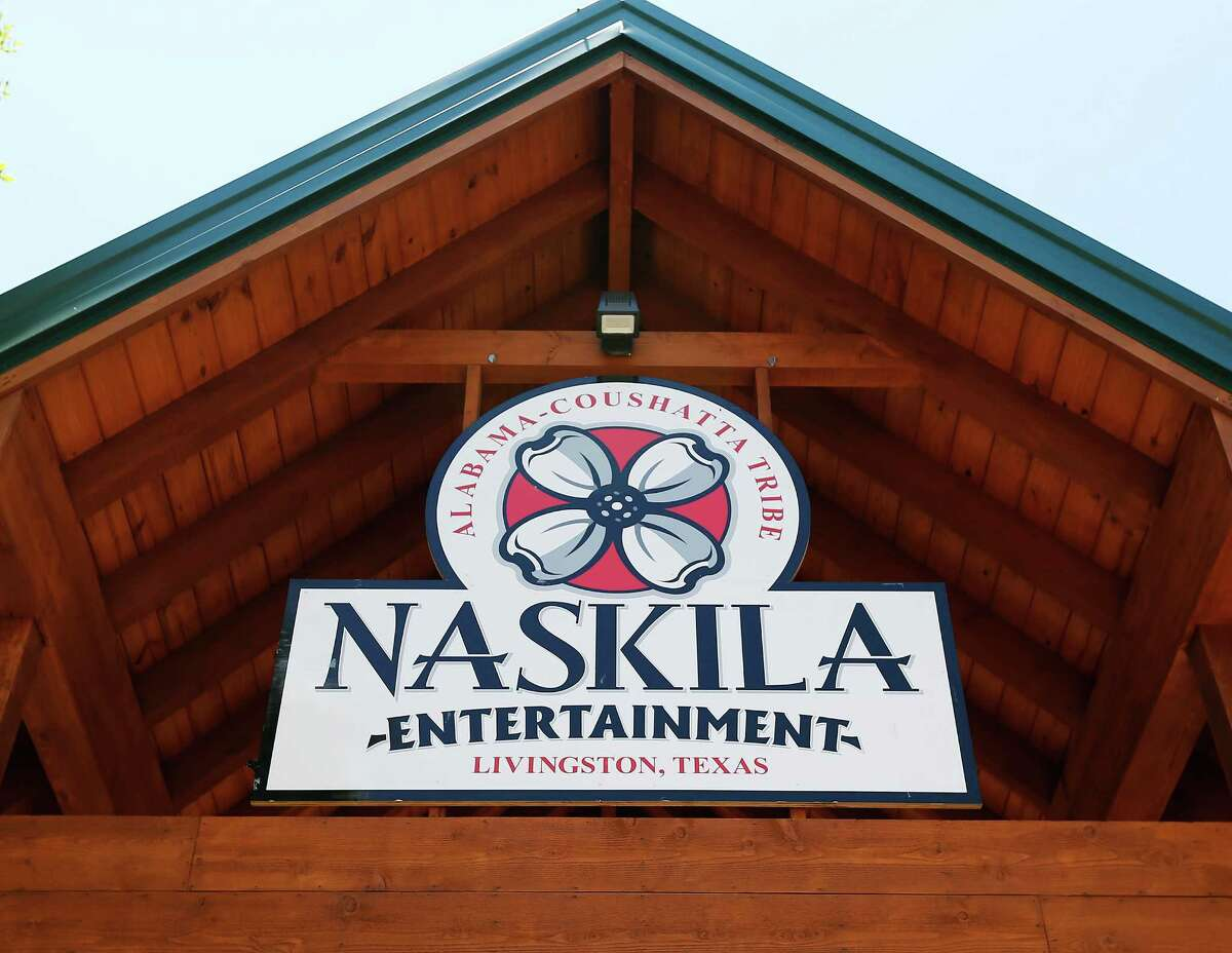 """The Alabama Coushatta Indian Tribe in Livingston, Texas about an hour north of Houston reopened its casino after a 14-year closure prompted by threats from the state of Texas to take legal action against the tribe. Recent legal developments paved the way for the reopening. With 365 Class 2 electronic gaming devices, the former casino has been renamed Naskila Entertainment and its doors opened earlier this month to eager guests and gamers. Only """"bingo"""" type machines are in use at Naskila Entertainment according to officials. (Kin Man Hui/San Antonio Express-News)"""