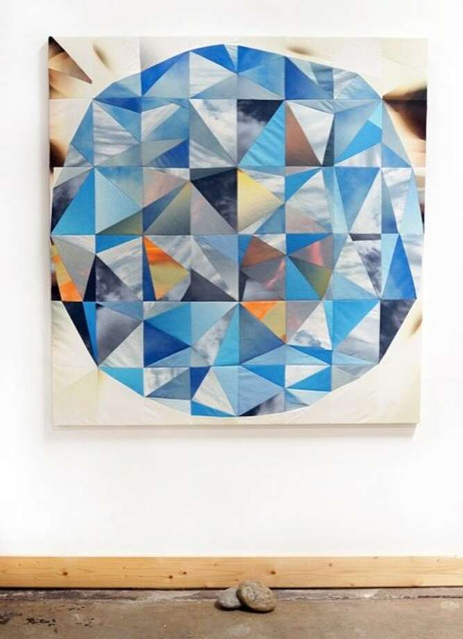 """Sky Orb and Stones,"" by Amber Jean Young. Photo: Courtesy Berkeley Art Center And Heather Marx Art Advisory"