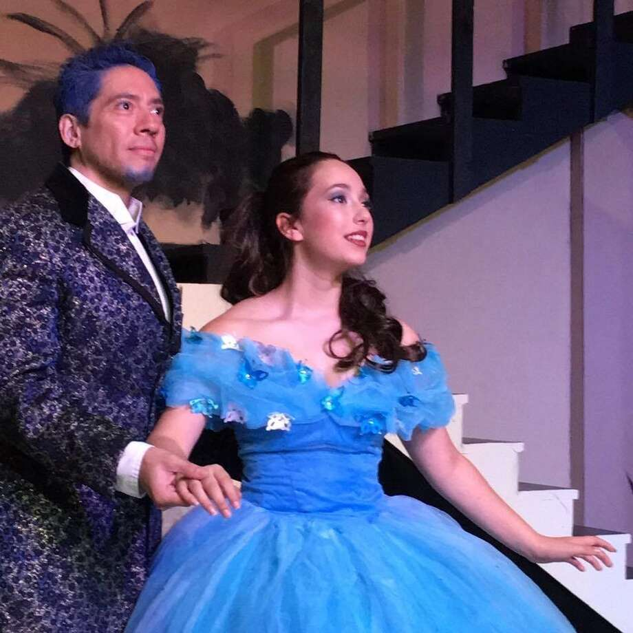 "Jef Maldonado (from left) and Lauren Cole star in ""Cinderella's Makeover"" at Performing Arts San Antonio. Photo: Courtesy Photo"