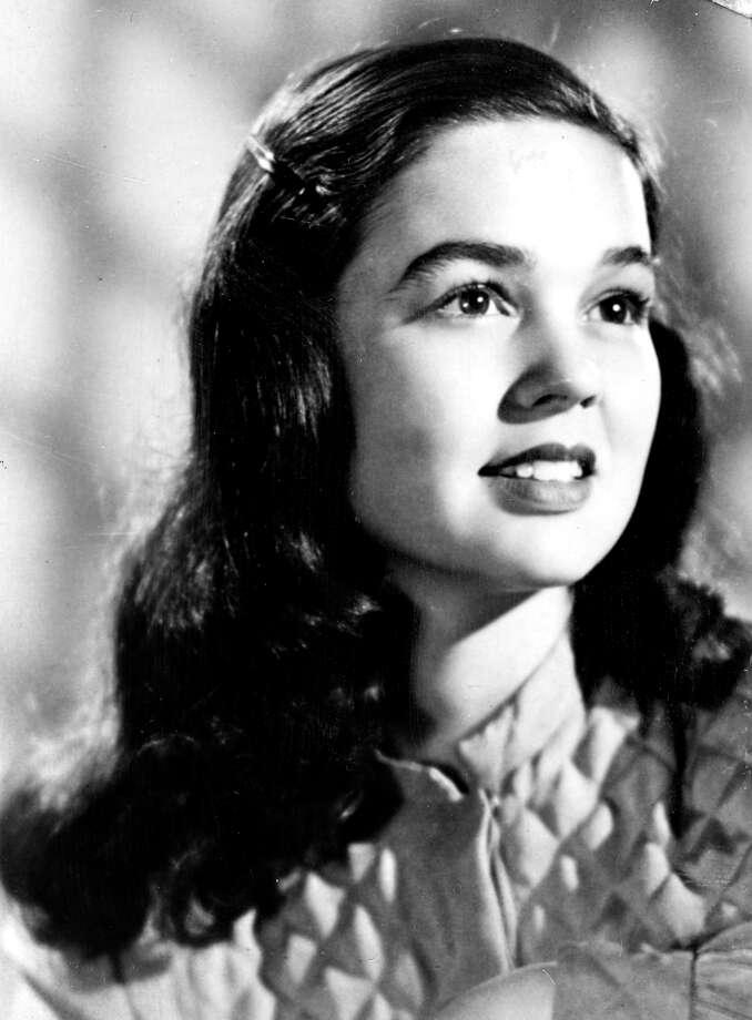 Kathryn Crosby, 1951. Photo: Houston Chronicle