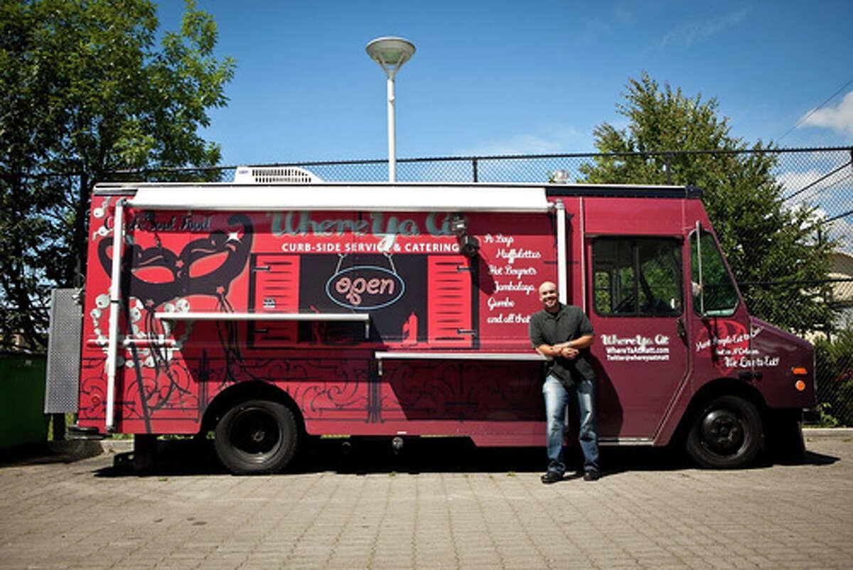 Where Ya At Matt food truck in Seattle.
