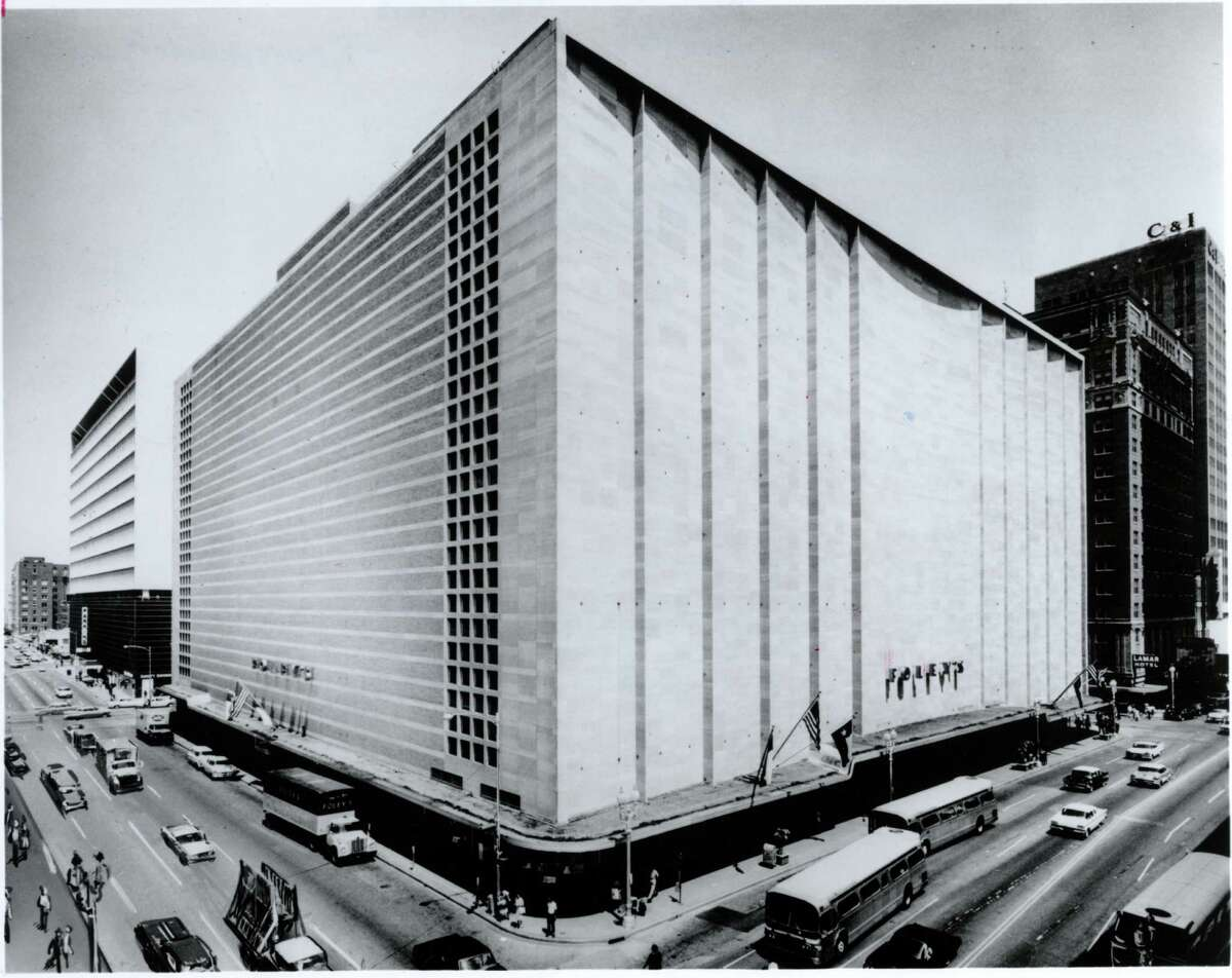 A photo rendering of Foley's iconic Main Street store in 1962.This week in 1947 the shopping landscape changed in downtown Houston with the opening of the ten-story flagship store just in time for the holiday shopping season. See more photos of the store that revolutionized downtown shopping 70 years ago...