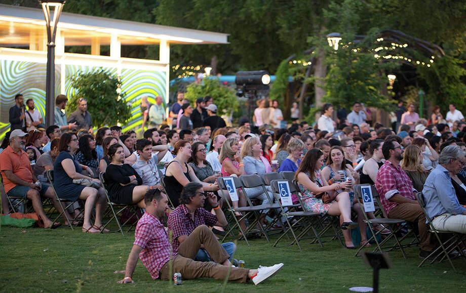 PechaKucha San Antonio stirred up a scene for Volume 22 at Yanaguana Gardens in Hemisfair, June 7, 2016. Photo: B. Kay Richter