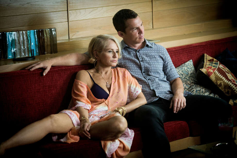 """Barkin, in a scene with  Pope (Shawn Hatosy) in """"Animal Kingdom,"""" which borders on the emotionally incestuous. Photo: EDDY CHEN / TNT / TM & (c) Turner Entertainment Networks. A Time Warner Company. All Rights Reserved."""