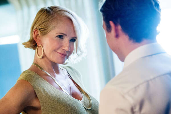 Ellen Barkin, lean, mean and squinty-eyed, is mesmerizing as crime clan matriarch Smuf in 'Animal Kingdom' on TNT