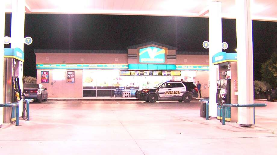 Police are searching for a man who pulled a gun on a convenience store clerk on Wednesday morning. Photo: 21 Pro Video