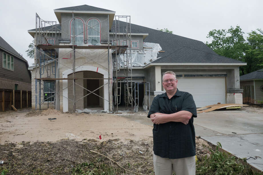 Realtor David Tansey handles construction and existing homes in Westview Terrace and other neighborhoods in the area. Photo: R. Clayton McKee, Freelance / © R. Clayton McKee