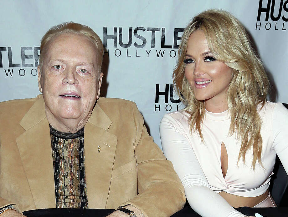 Larry Flynt, founder of the pornographic publication Hustler Magazine, is making his way to San Antonio next week. Photo: Getty Images / 2016 David Livingston
