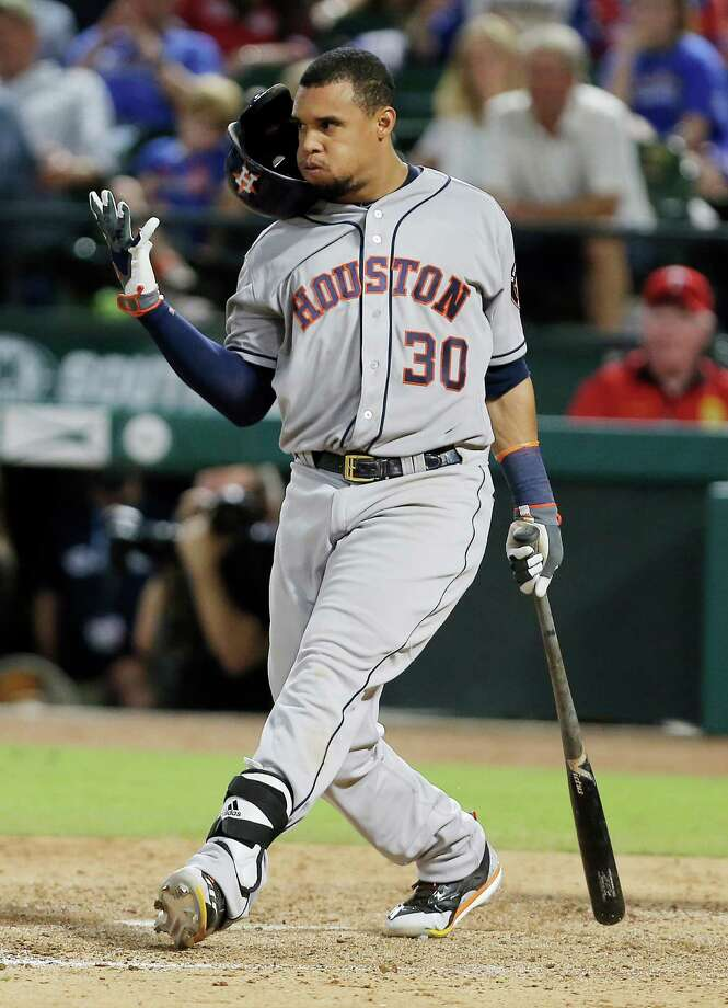 Carlos Gomez and the Astros have had no luck against the Rangers this season, dropping the first eight meetings entering Wednesday's matchup in Arlington.Click through the gallery for a Houston vs. Dallas sports primer. Photo: Brandon Wade, Associated Press / FR168019 AP