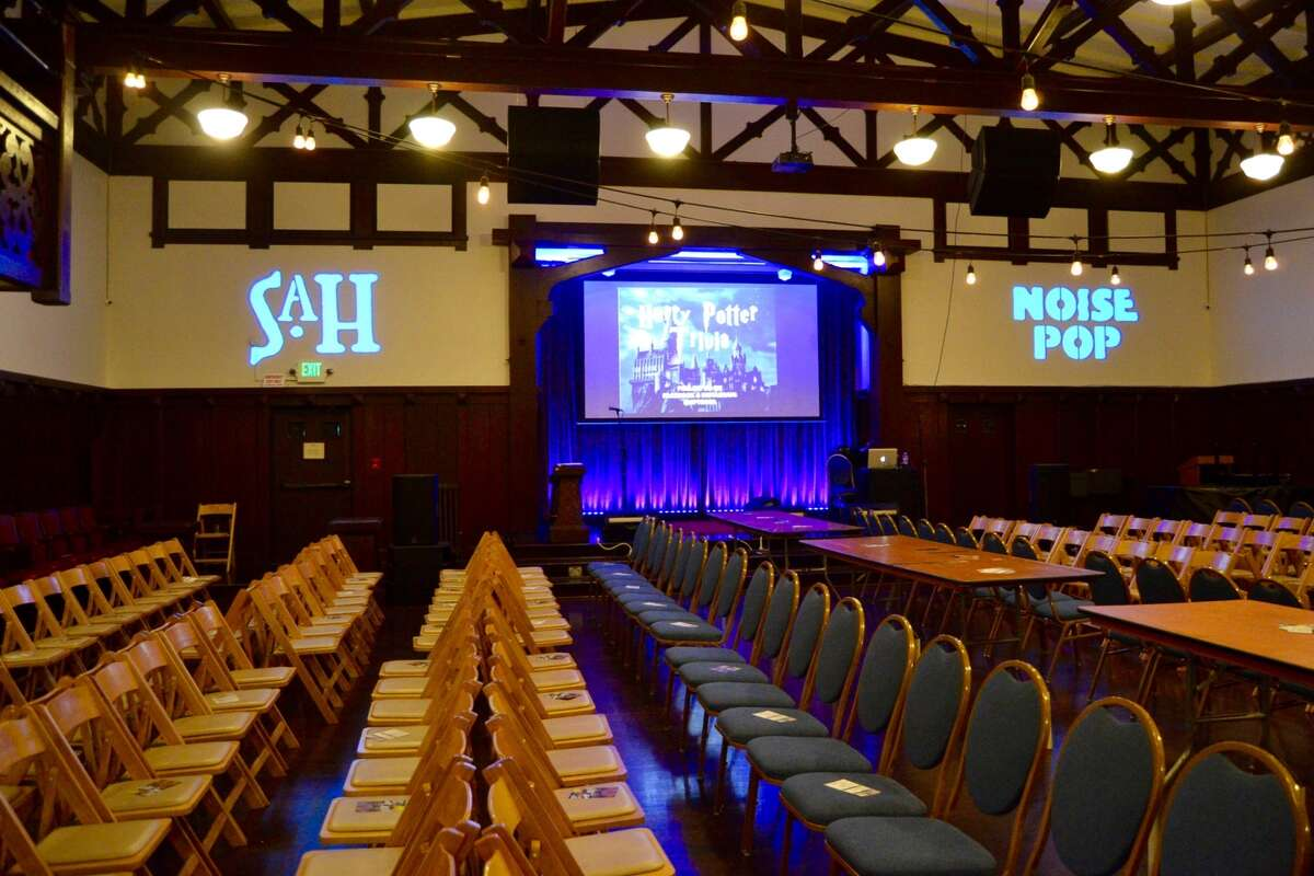 The Swedish American Music Hall in San Francisco hosts Harry Potter Trivia on June 7, 2016.