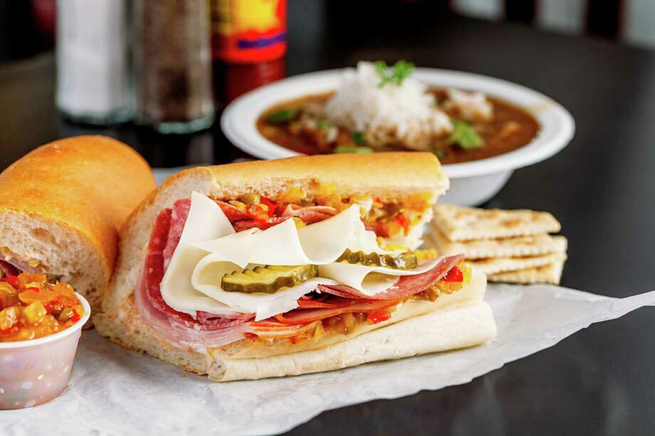 Super Original Po'Boy from Antone's Famous Po'Boys. Photo: Cooper + Ricca