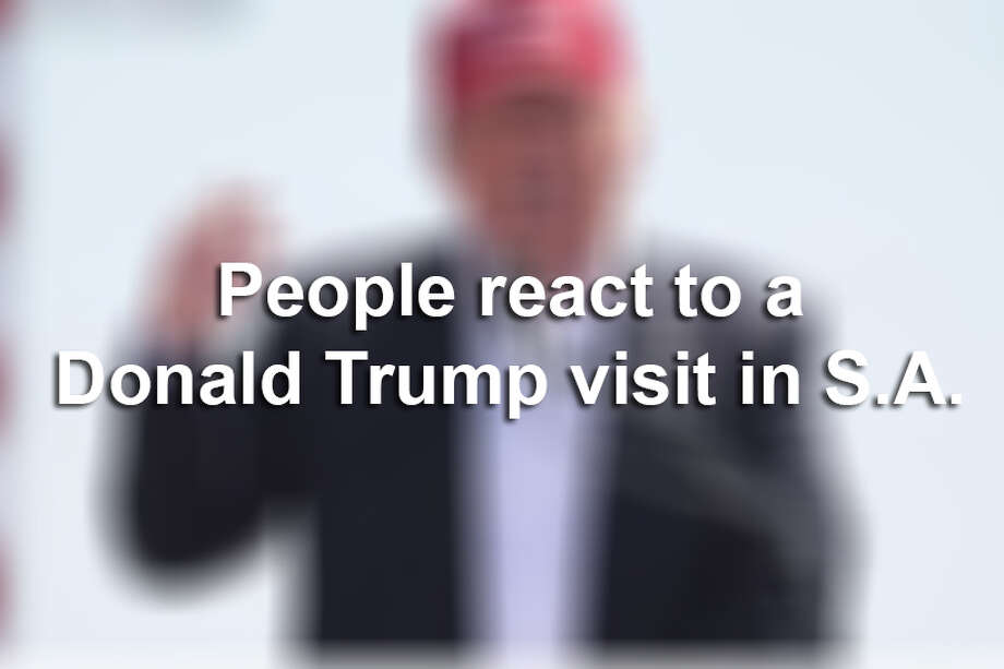 When news broke that Donald Trump is planning a fundraising visit to San Antonio on June 17, people had plenty to say about it on social media.Here are the funniest reactions to the announcement. Photo: File