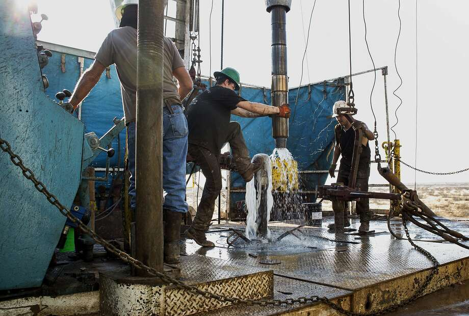Houston's IHS Markit this week released an analysis that said the Permian Basin set a new oil production record of at least 815 million barrels, racing past its previous record of 790 million barrels set in 1973. Photo: Brittany Sowacke, Bloomberg