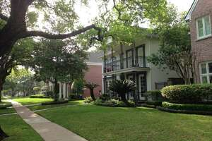 Houses on Tangley street in West University in 77005, the highest priced ZIP code in Texas.
