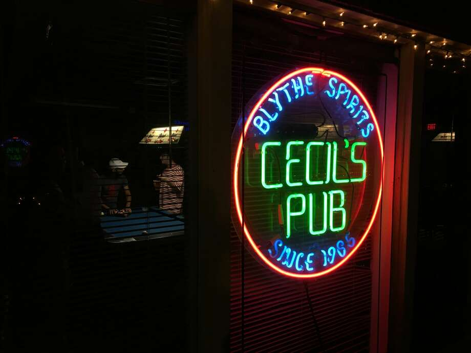 This week Houstonians found out that one of the most beloved bars in Montrose, Cecil's Pub, was up for sale after 26 years of business. Photo: Craig Hlavaty