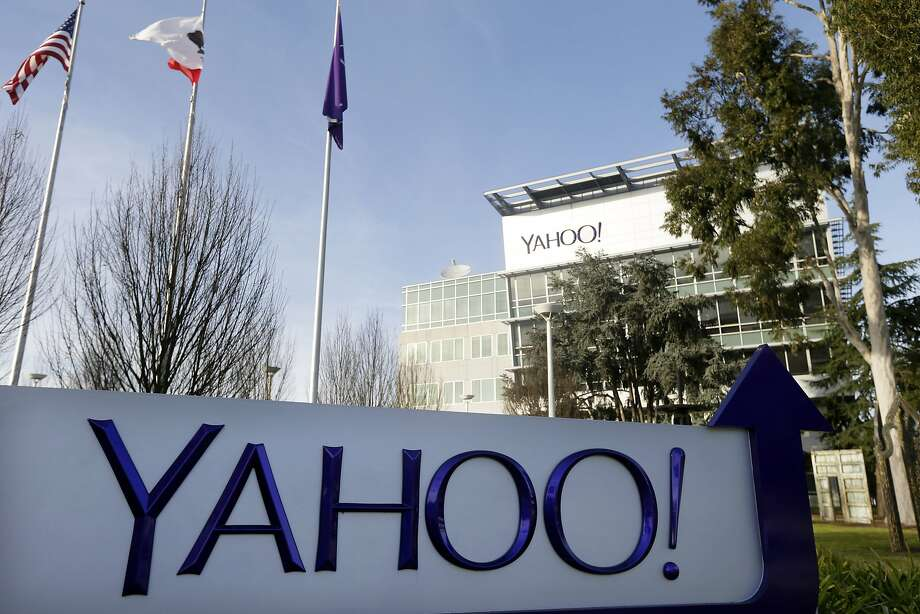 FILE - This Jan. 14, 2015, file photo shows a sign outside Yahoo's headquarters in Sunnyvale, Calif. Yahoo is hoping to sell most of its technology patents as part of a purge that also could culminate in the sale of its Internet operations. (AP Photo/Marcio Jose Sanchez, File) Photo: Marcio Jose Sanchez, Associated Press