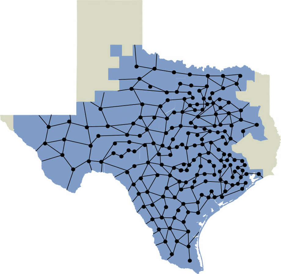 The U.S. has three independent power grids. One of them is in Texas--the only grid within a single state's boundary. It is managed by the Electric Reliability Council of Texas, ERCOT. Image via ERCOT