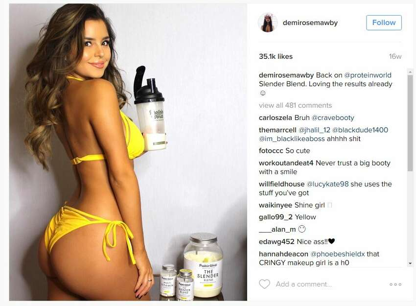 Supermodel Demi Rose Mawby is making the rounds on gossip websites as Tyga's reported rebound girl after breaking up with Kylie Jenner, 18, earlier in May.