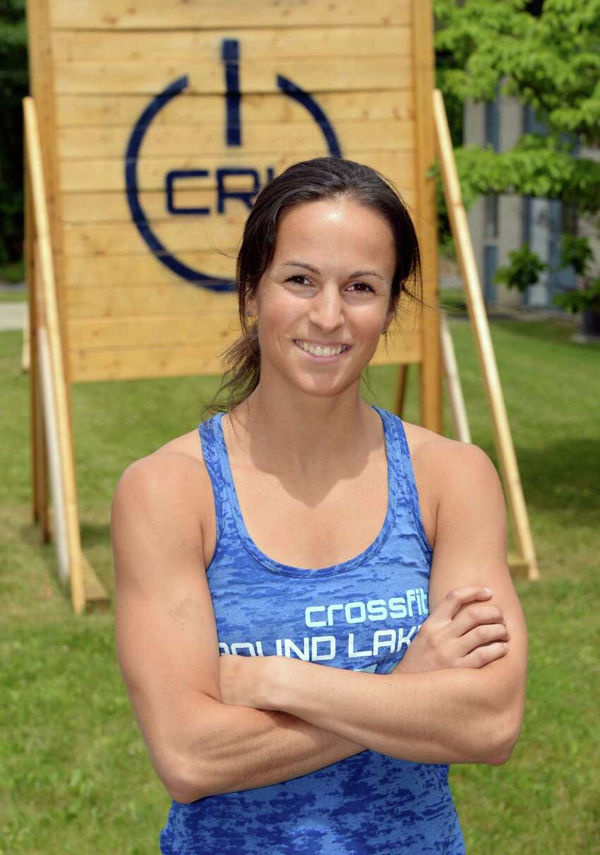 Melissa Manzer, co-owner of CrossFit Round Lake at the sports facility Wednesday June 8, 2016 in Round Lake, NY. (John Carl D'Annibale / Times Union)