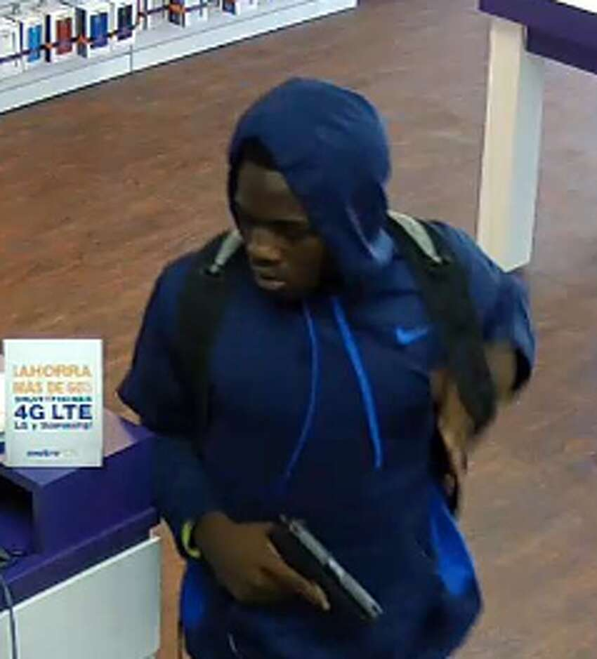 The San Antonio Police Department is asking for assistance in identifying the suspects pictured in these photos. They are wanted for a robbery at the Metro PCS located at 5602 US Hwy. 87 E. on June 7, 2016.