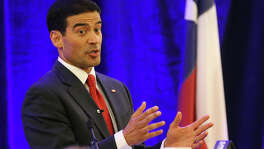 """Bexar County District Attorney Nicholas """"Nico"""" LaHood presents his inaugural State of the District Attorney Address earlier this year. A reader criticizes him for continuing to discourage parents from having their children vaccinated."""