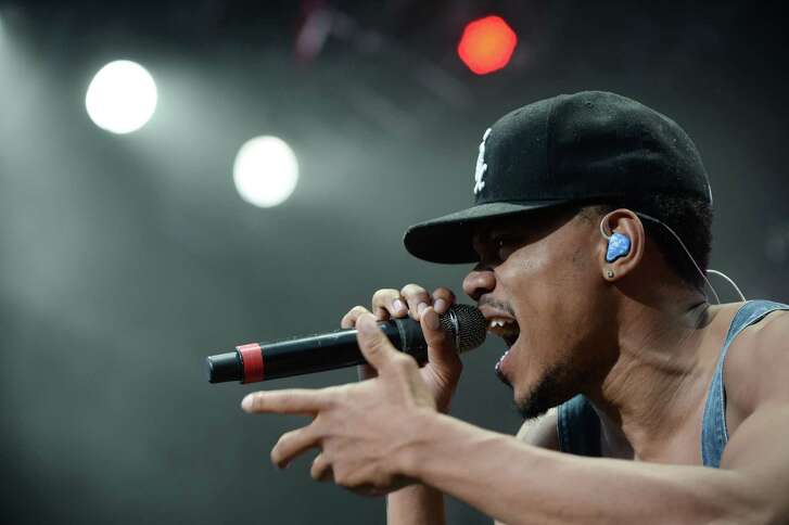 Chance The Rapper, shown here at Houston's Free Press Summer Fest last year, is enjoying plenty of mainstream success as a Christian-influenced rapper.