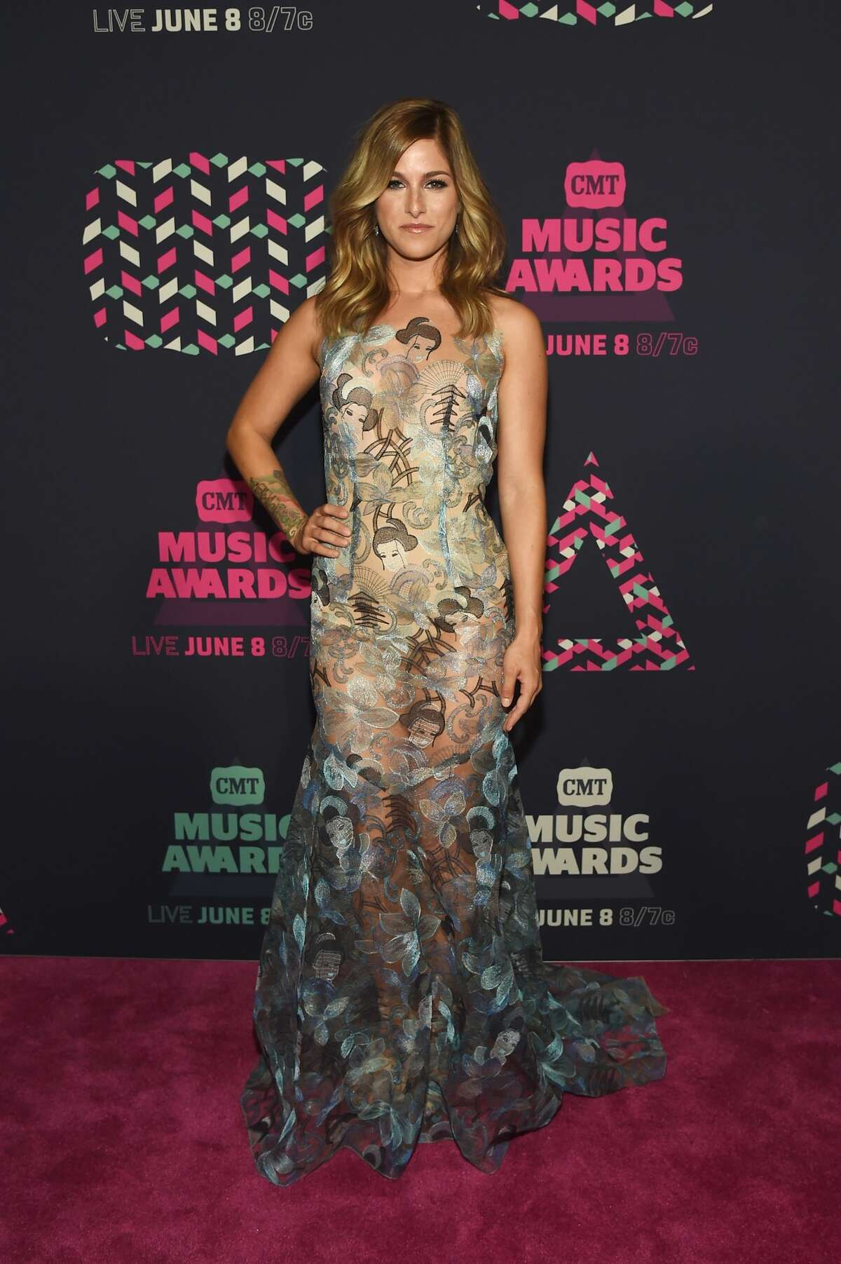 Best: Cassadee Pope A most intriguing naked dress, and the only one we saw on this red carpet.
