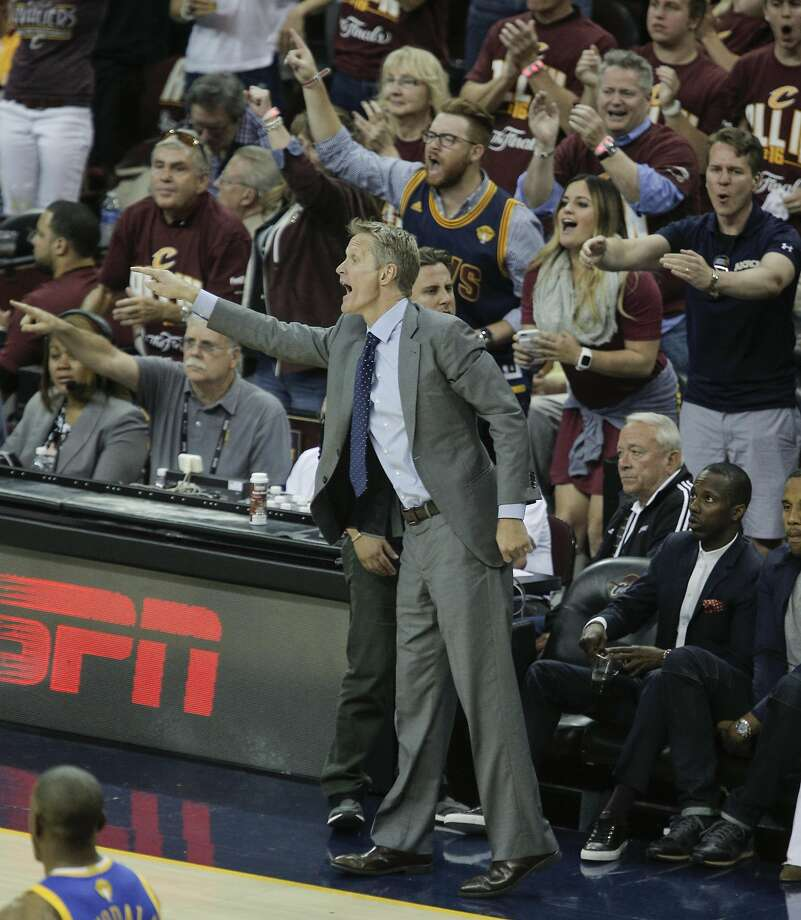 Golden State Warriors Coach: Did That Cavs Fan Elbow Steve Kerr's Daughter On Purpose