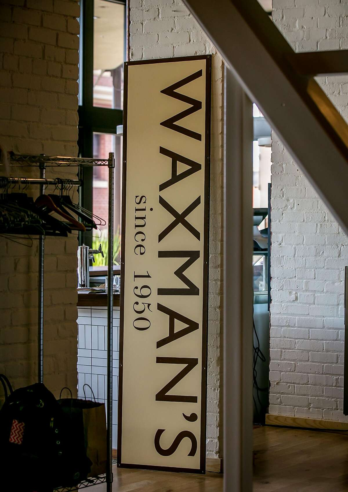 The interior of Waxman's in San Francisco, California is seen on June 8th, 2016.