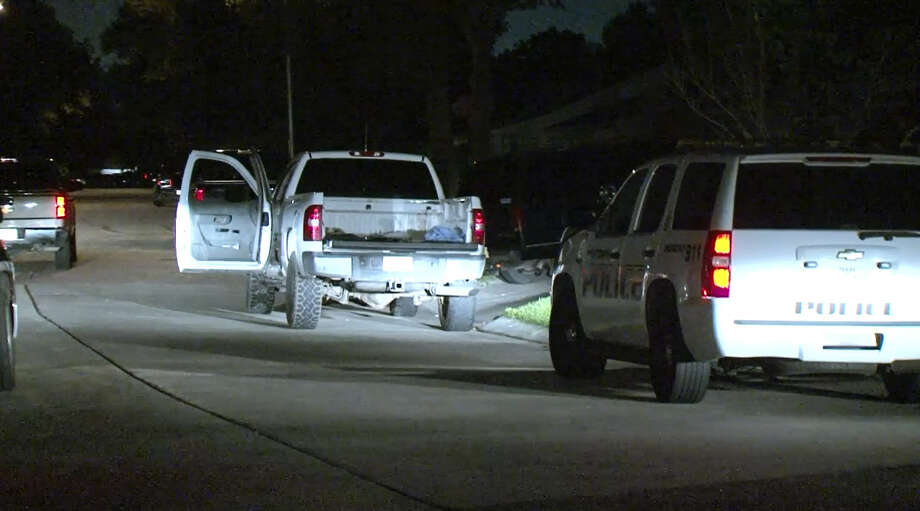 Police are searching for suspects after a shooting Wednesday night left an 18-year-old dead and his twin brother wounded at a Baytown Park on Wednesday, June 8, 2016. Photo: Metro Video