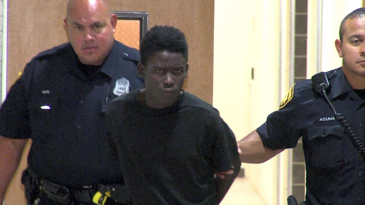 Abdi Abdi, 18, faces a charge of capital murder for his alleged role in the death of Ana Garza, who was shot in the head while she slept in the front bedroom of her home in the 800 block of Pecan Valley on June 1.