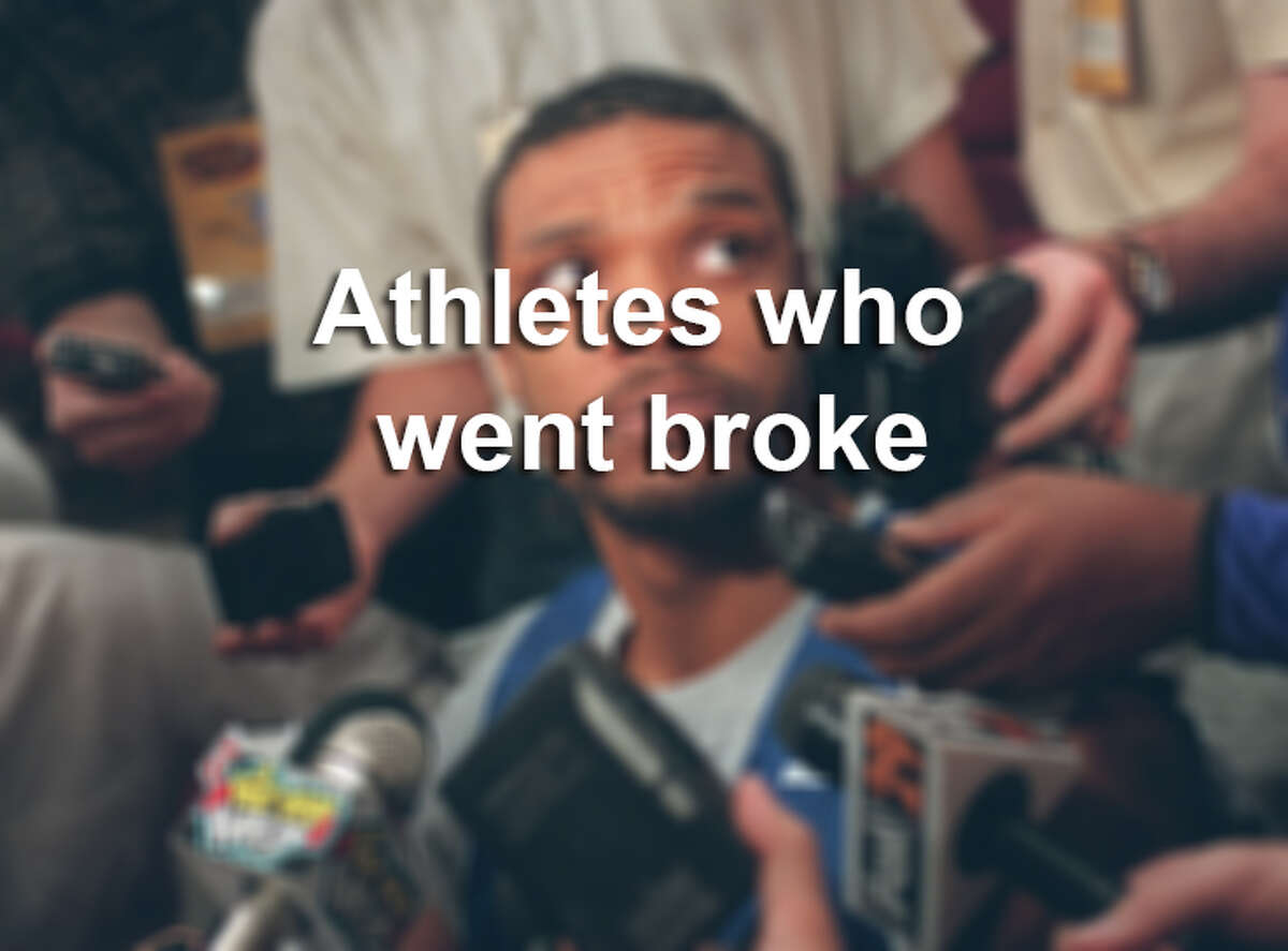 Click through the gallery to see past athletes who have had financial trouble while they were still playing and after their careers have ended.
