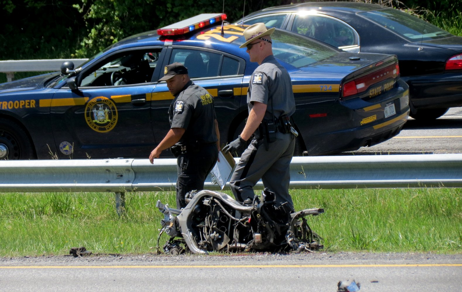 Virginia Traffic Accident Reports >> Thruway reopened at exits 21A-23 after fatal motorcycle crash - Times Union