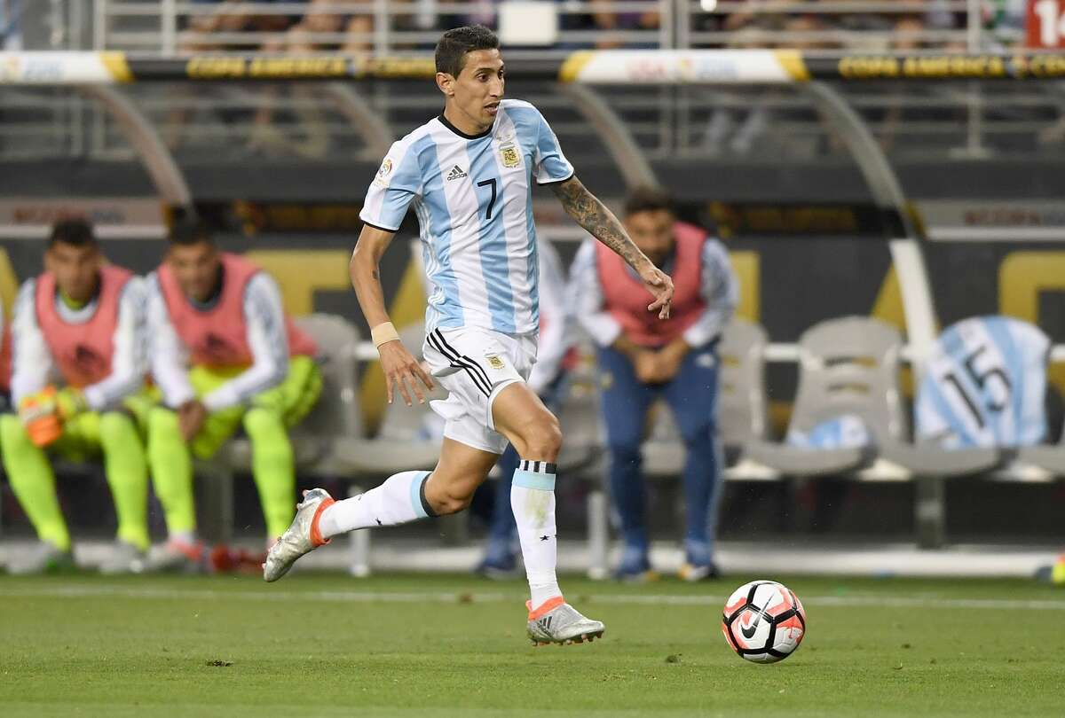 PLAYERS TO WATCH Argentina Angel Di Maria He is talented enough to play on the wing or in the middle of the park. The left-footed Paris St. Germain star has two assists in this tournament.