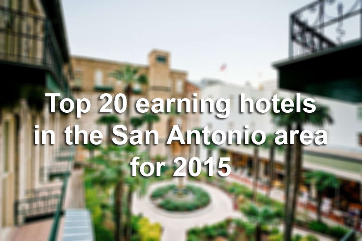 Click through the slideshow to see the most lucrative San Antonio-area hotels.