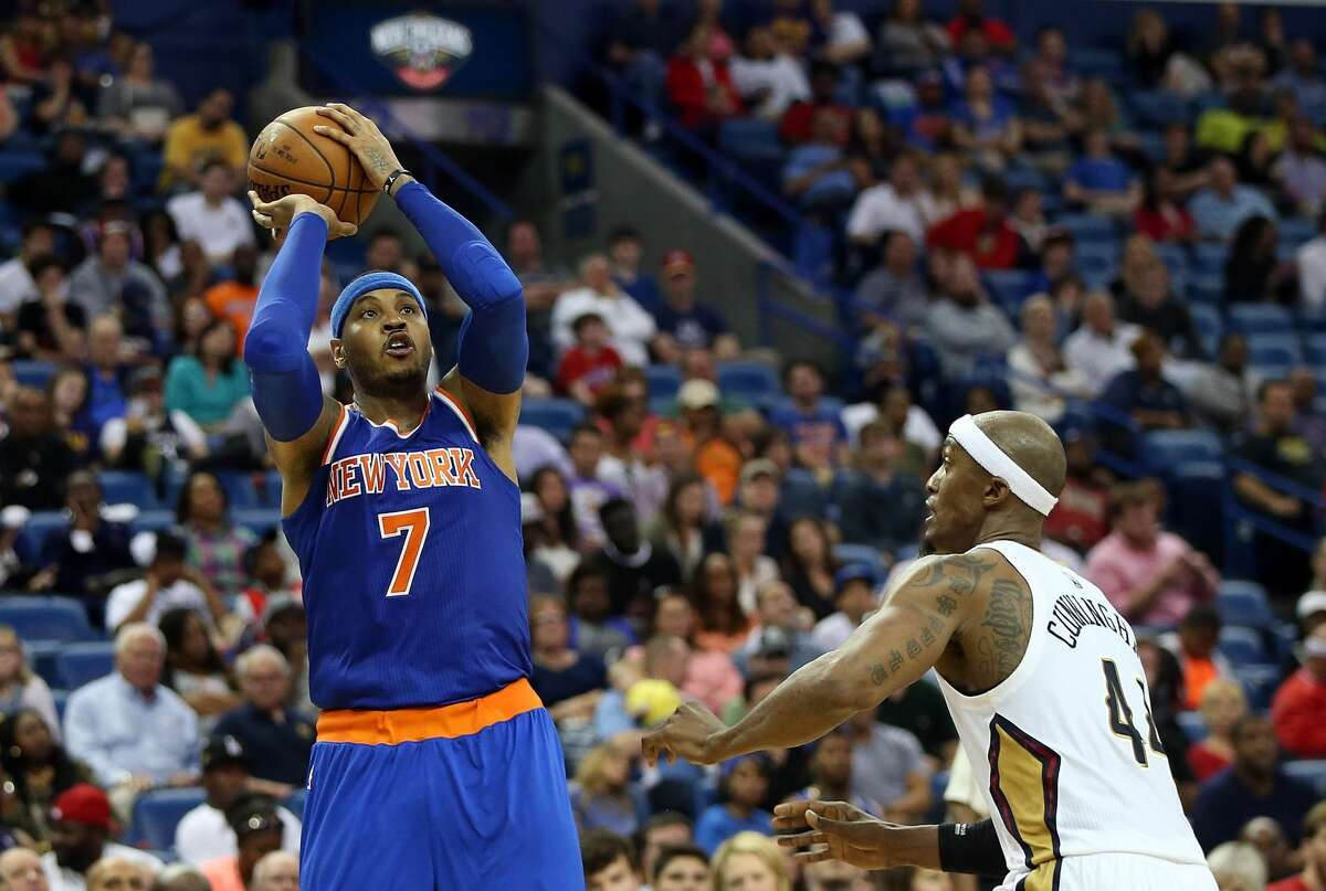 Carmelo Anthony 2015-16 averages 22.4 points, 7.9 rebounds, 4.3 assists
