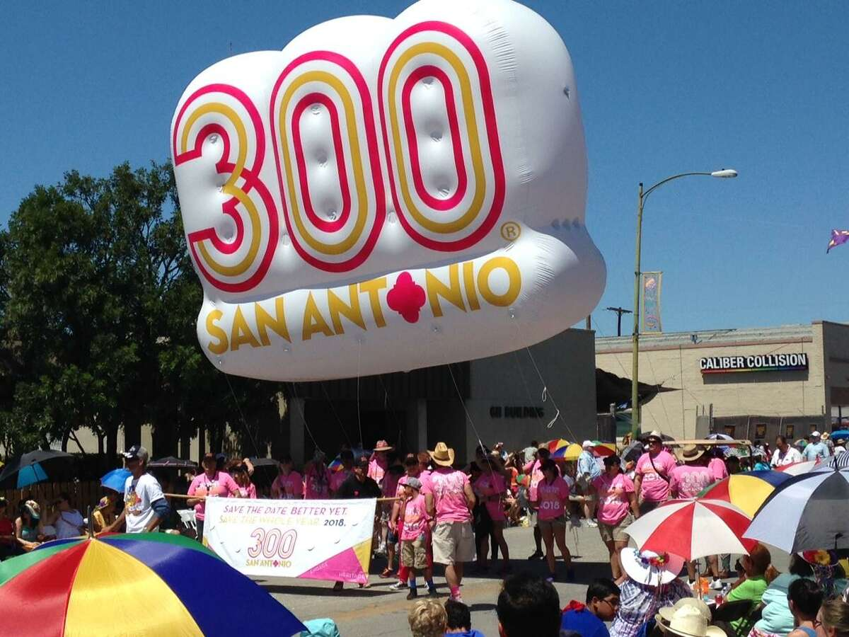 San Antonio-based USAA has pledged $500,000 to San Antonio's Tricentennial and will be the official military appreciation sponsor of the celebration.