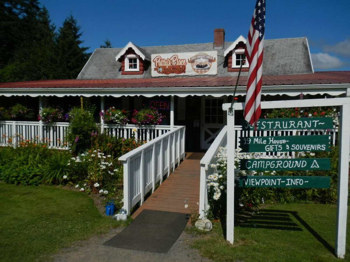 Patty's Place at 19 Mile House, Toutle This place is on the Spirit Lake Highway, making it a perfect stop to or from Mount St. Helens. Order an elk burger, but save room for cobbler.