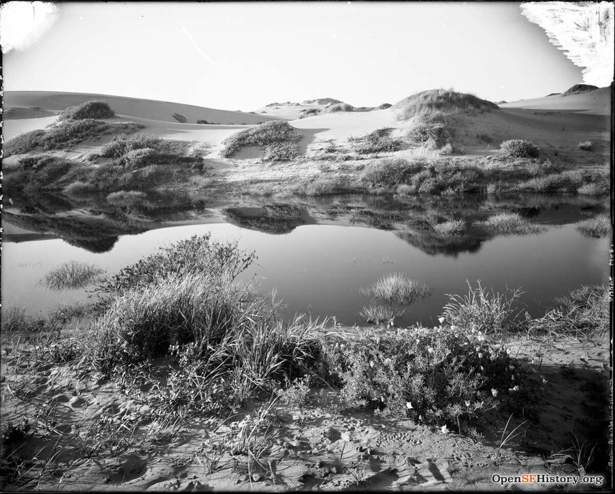 Sand Dunes circa 1910, Willard E. Worden. Courtesy of OpenSFHistory.org.