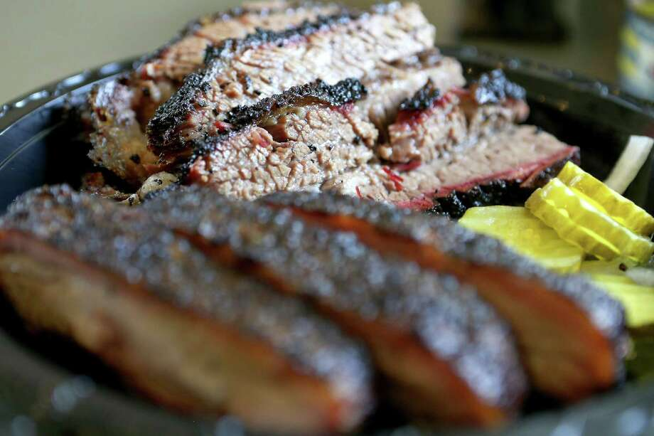 Brisket and ribs from King's Hwy Brew & Q. Photo: William Luther /Staff Photographer / © 2016 San Antonio Express-News
