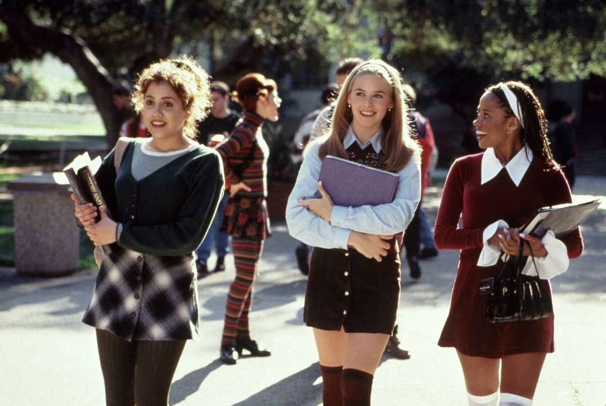 """Brittany Murphy, Alicia Silverstone, Stacey Dash in """"Clueless,"""" 1995."""