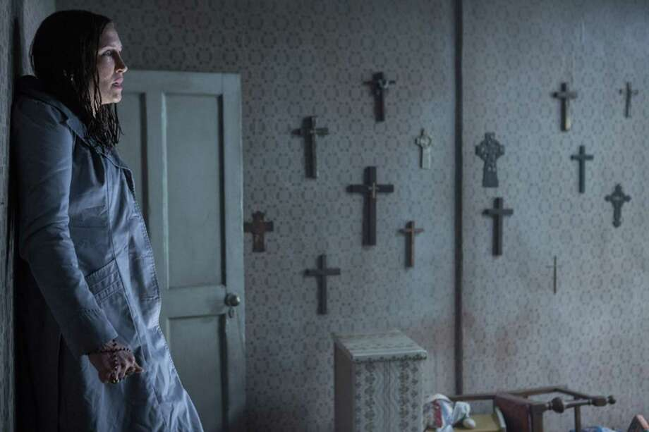 """Vera Farmiga in """"The Conjuring 2."""" (Matt Kennedy/Warner Bros. Entertainment/TNS) Photo: Matt Kennedy, HO / Warner Bros. Entertainment"""