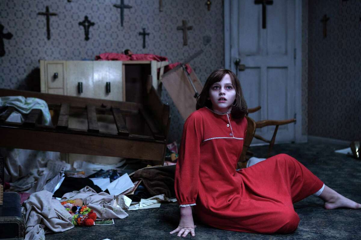 """Madison Wolfe stars as Janet in """"The Conjuring 2,"""" which capitalizes on the fear evoked by what lies just beyond the camera's frame."""