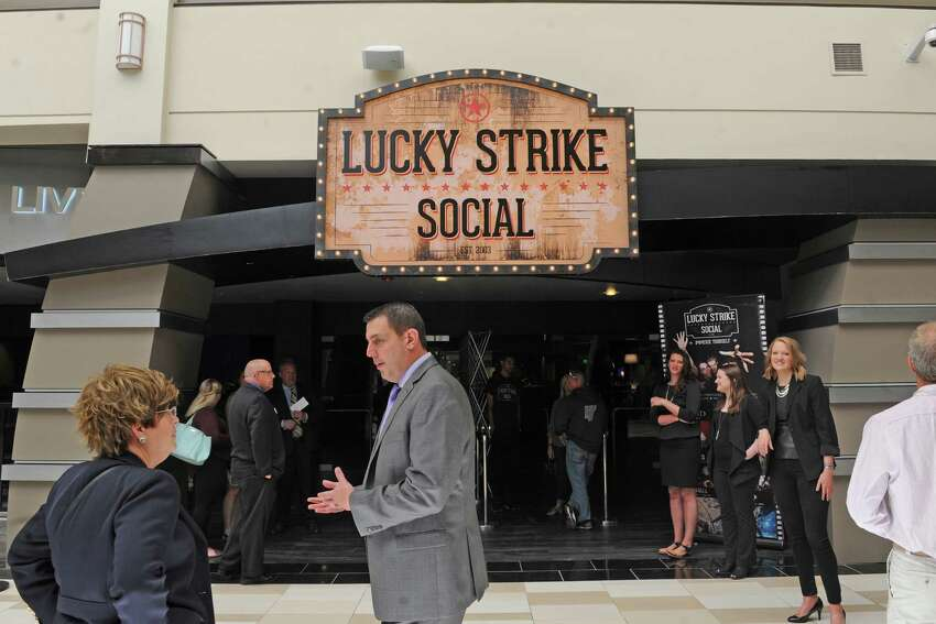 Lucky Strike Social opens for a VIP party on Thursday night and to the general public Friday on Thursday June 9, 2016 in Guilderland, N.Y. (Michael P. Farrell/Times Union)